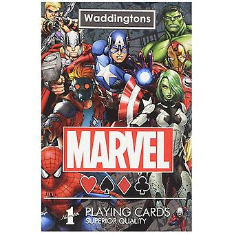 Marvel Universe Waddingtons Nummer 1 Spielkarten