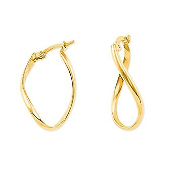 amor Women's Hoop Earrings Gold_Yellow - 2013783