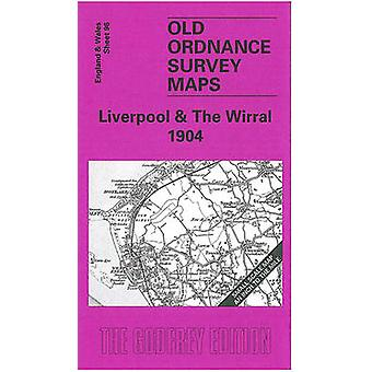 Liverpool and The Wirral 1904 - One Inch Sheet 096 by Derrick Pratt -