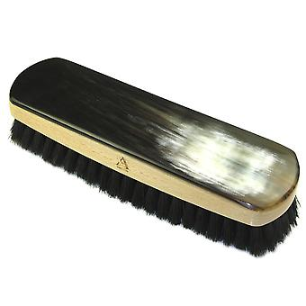 Abbeyhorn OxHorn Shoe Brush-Natural and Black