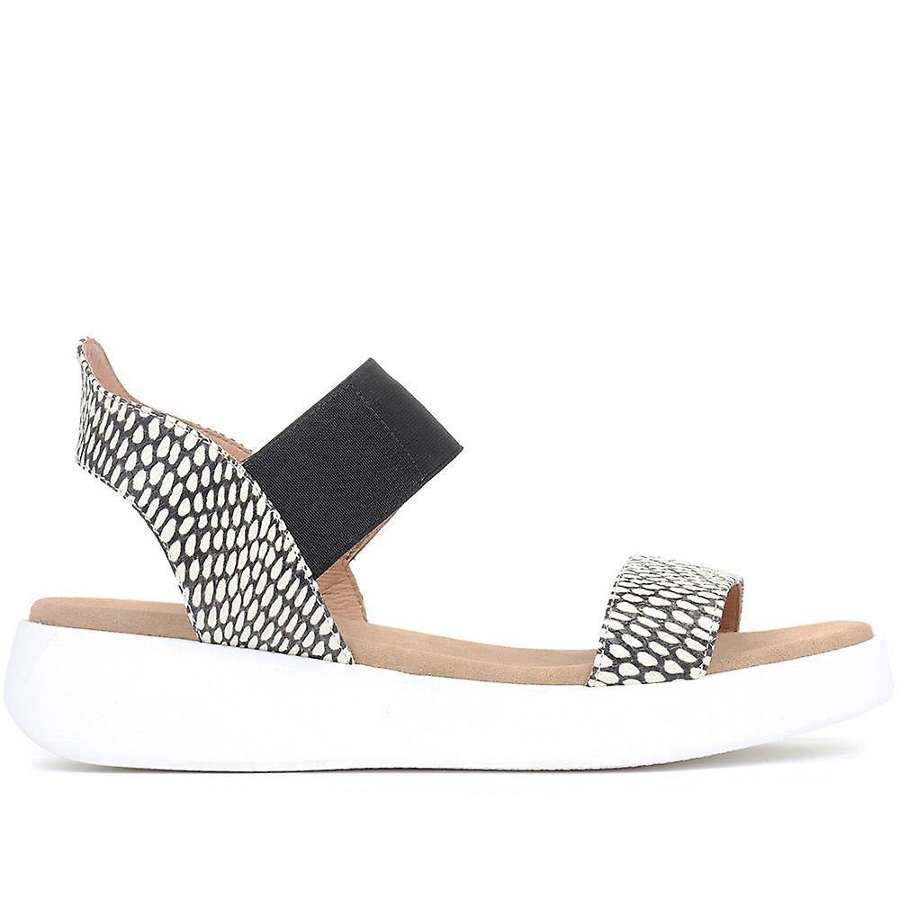 Jones Bootmaker Amara Leather Platform Sandals