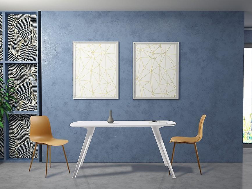 Sedia Polaris Color Marrone in Polipropilene, Metallo 47x45x80 cm