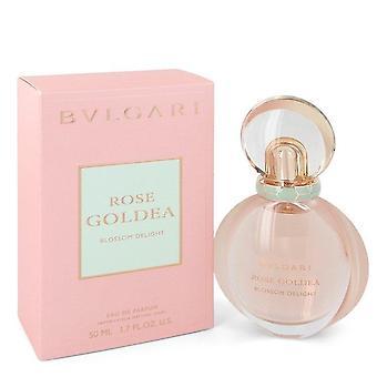 Rose Goldea Blossom Delight Eau De Parfum Spray Por Bvlgari 1.7 oz Eau De Parfum Spray