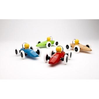 Brio Race Car 30077 Red, Blue, Green, or White Toddler Wooden Toy