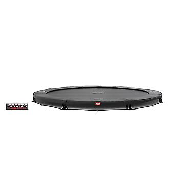 BERG InGround 430 14ft Trampolin Sport Serie Grey-Weltmeister