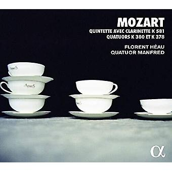 Quintette Avec Clarinette [CD] USA import