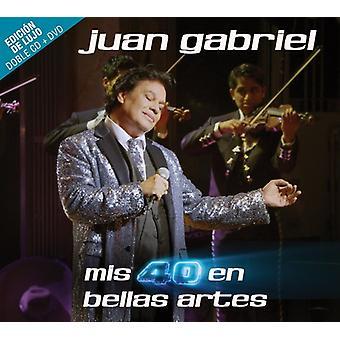 Juan Gabriel - Mis 40 En Bellas Artes [CD] USA import