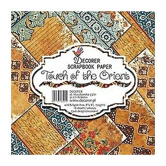 Decorer Touch of the Orient 8x8 Inch Paper Pack