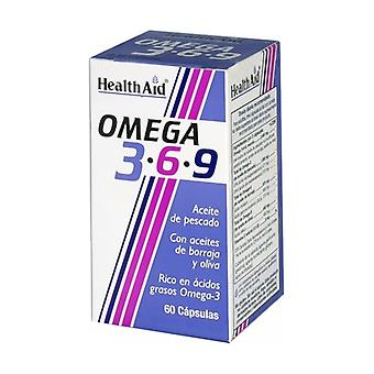 Omega 3 6 9 60 capsules