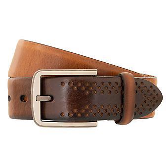 LLOYD Men's Belt Sbelt Men's Belt Full Cowhide Men's Leather Belt Bege 3309