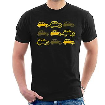 Citro�n Vintage 2CV Pattern Men's T-Shirt