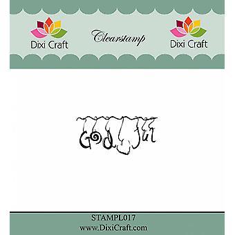 Dixi Craft Jumala Jul 2 kirkas leima