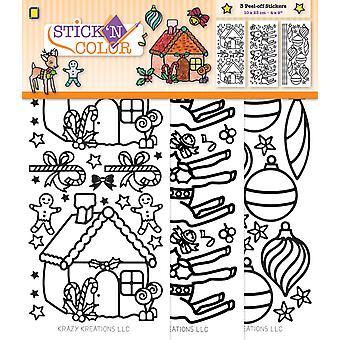 JEJE Produkt Stick 'N Color Christmas