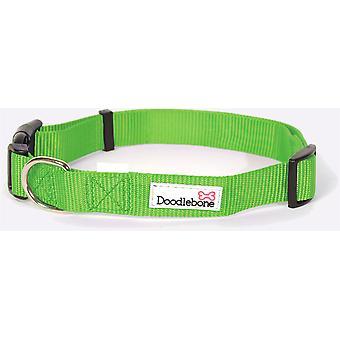 Doodlebone Állítható Bold Collar - Kicsi - Zöld
