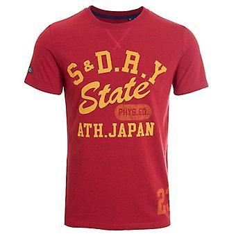 Superdry T&f Classic T-shirt Chili Pepper Marl