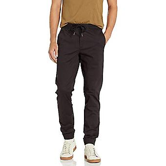 Marca - Goodthreads Hombres's Slim-Fit Jogger Pant, Negro XX-Large/34