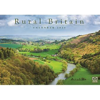 Rural Britain A4 Calendar 2021