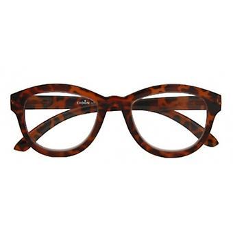 Leesbril Vrouwen Madonna bruine kracht +1.00