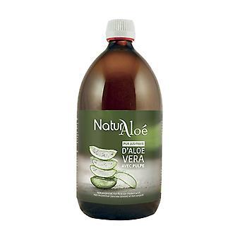 Organic aloe vera pulp 500 ml