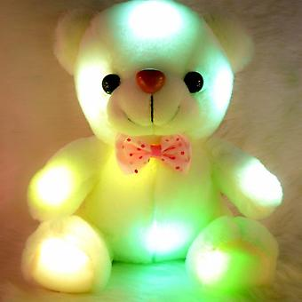 20cm Arrival Glowing Teddy Bear Luminous Plush Toys- Led Lovely Gifts For Kids