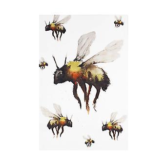 Meg Hawkins Tea Towel, Bee