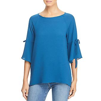 Chenault | Tie Bell Sleeves Blouse