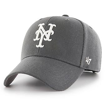 47 Brand Relaxed Fit Cap - MLB New York Mets houtskool