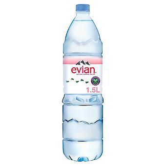 *6 confezione*Acqua minerale ancora Evian 1,5L x 6