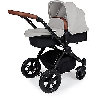 Ickle Bubba Stomp v3 All In One Travel System Galaxy & Isofix Base Black