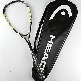 Kopf Carbon Squash Schläger mit String Bag, Padel Raqueta Trainingszubehör