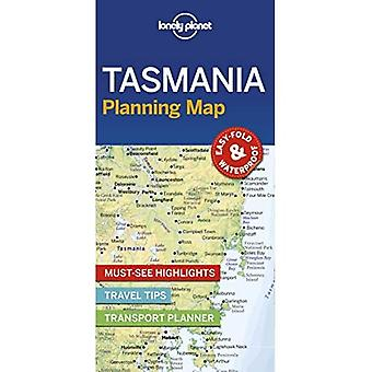 Lonely Planet Tasmania Planning Map (Map)