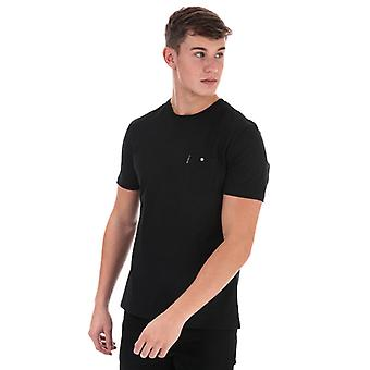 Men's Ben Sherman Spade Tasche T-Shirt in schwarz