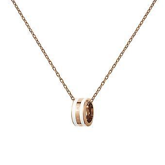 Daniel Wellington DW00400153 Emalie Rose Gold Tone Necklace