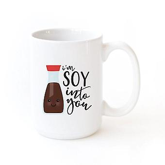 I'm Soy Into You-mug