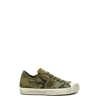 Philippe Model Ezbc019075 Men's Camouflage Fabric Sneakers