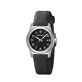 וונגר אנלוגי שעונים קוורץ אישה עם רצועת סיליקון מס': 01.0411.129