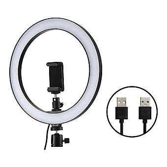 Led Selfie Ring Light, Studio Fotografia Fill Lampa ze statywem