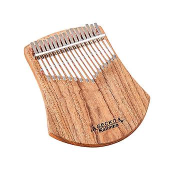 17-keys Kalimba, African Camphor, Wood Thumb Piano, Finger Percussion, Musical
