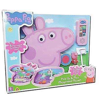 Peppa Pig Pick Up & Play - Playground Play Set