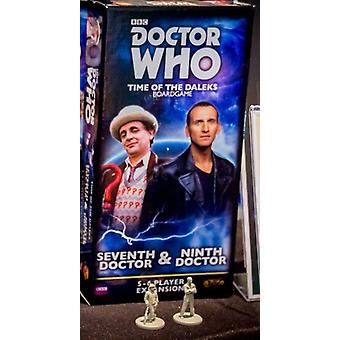 Seventh Doctor and Ninth Doctor Expansion Pack Doctor Who Time of the Daleks