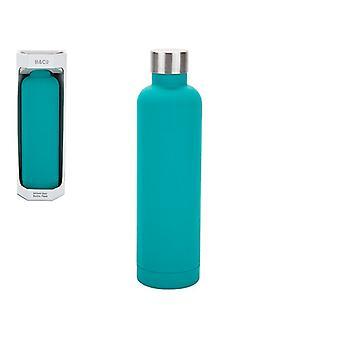 Summit B&Co Geo Bottle Flask Turquoise