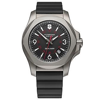Victorinox Swiss Army 241883 I.NO.X. Titanium Black Rubber Men's Watch