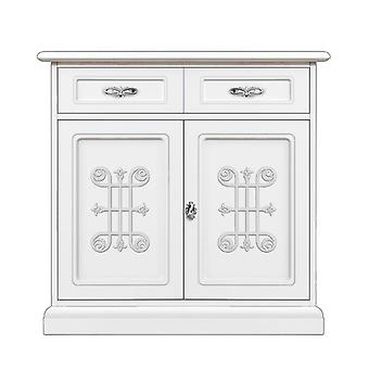 Silver detailing sideboard 'You Silver;;