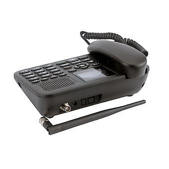 Gsm kiinteä langaton puhelin värikäs Lcd Dual SIM-kortti soittaa Record Fm