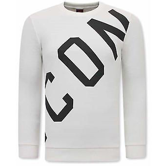 ICON Sweater - White