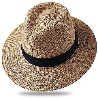 الصيف الشمس القبعات والشاطئ قبعة القش حماية الأشعة فوق البنفسجية كاب Chapeau Femme