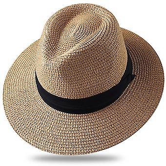Summer Sun Hats & Beach Straw Hat Uv Protection Cap Chapeau Femme