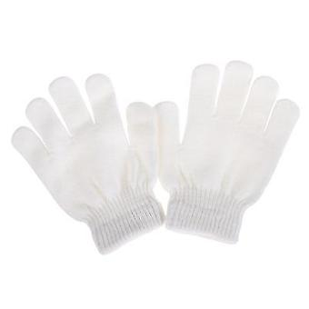 Magic Knitted Elastics Warm Fleece Ice - Skating Training Gloves