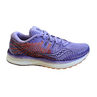 Saucony Liberty Iso Purple Peach Womens Trainers Lace Up Running Shoes S10510 37