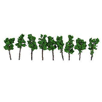 10pcs Model Tree Architecture Model Tree for DIY Scenery Landscape House